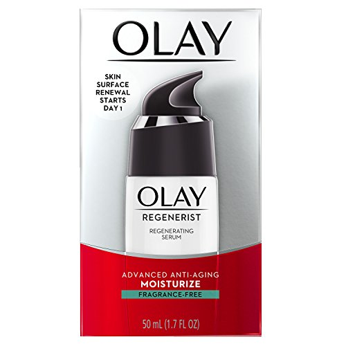 Olay Regenerist Regenerating Lightweight Moisturization Face Serum, Fragrance-Free 1.7 fl oz, Packaging May Vary (Advanced Skincare Llc compare prices)