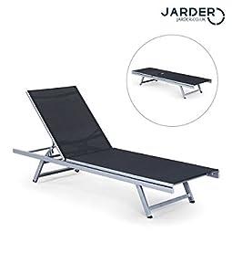 Jarder Luxury Adjustable Sun Lounger - Garden, Patio Chair - Adjustable Back Rest