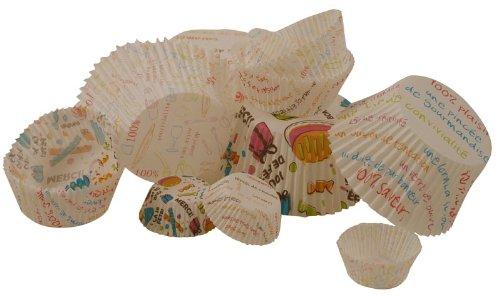 100 Moules à Macaron en Papier - Démoulage Facile - Pratique et Jetable
