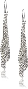 Swarovski Damen-Ohrringe Fit Cryssha 925 Sterling-Silber 9,5 cm 976061