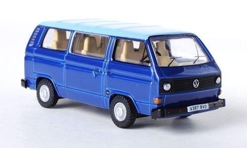 VW-T3-Bus-blauhellblau-RHD-Modellauto-Fertigmodell-Oxford-176