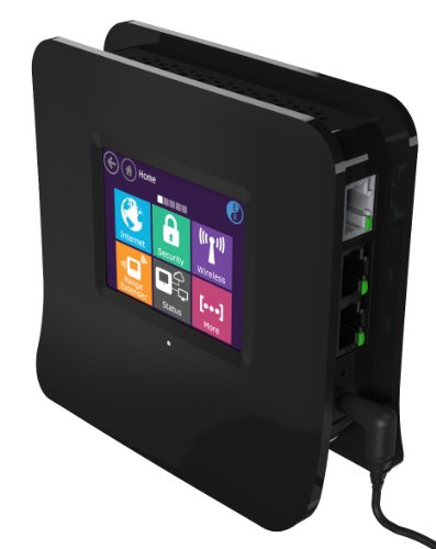 Securifi Almond - World's 1st Touch Screen Wireless N Router + Range Extender + WiFi Bridge