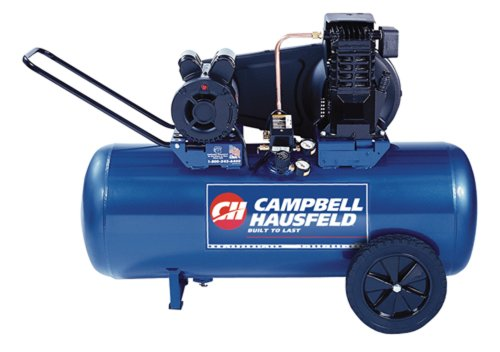 Campbell Hausfeld VT6271 26 Gallon ASME Oil-Lubricated 240V Horizontal Air Compressor