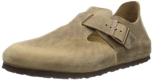 Birkenstock Unisex London 66853 Tabacco Brown Slides Sandal 6 UK 39 EU