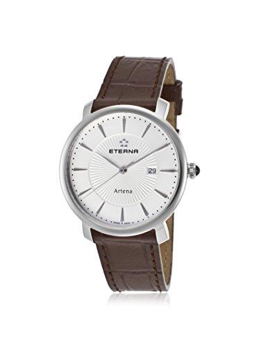 Eterna Women's ETERNA-2510-41-11-1253 Artena Brown/White Genuine Leather Watch