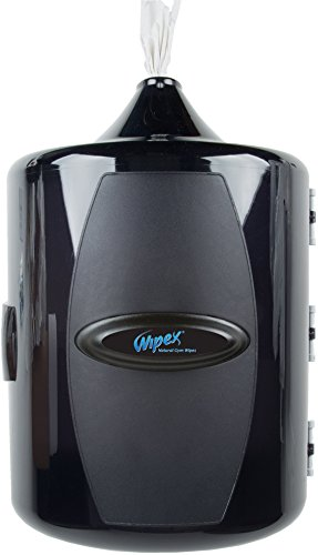 Wipex Wall Mounted Gym Wipes Dispenser for Gyms, Yoga, Health & Fitness Centers (Commercial Fitness compare prices)