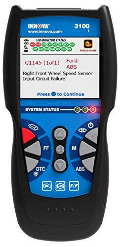 Innova 3100i Diagnostic Code Reader / Scan Tool with ABS for OBD2 Vehicles (Ford Obd2 Scanner compare prices)