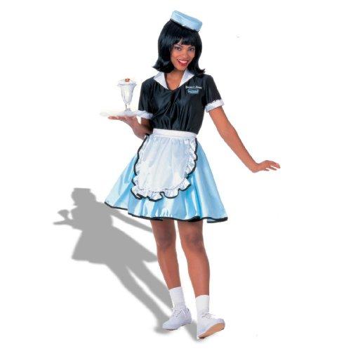 Adult Car Hop Girl 50s Costume