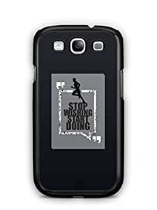 YuBingo Stop Wishing, Start Doing Mobile Case Back Cover for Samsung Galaxy S3