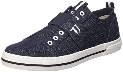 Trussardi Jeans 77S05649 Scarpe da ginnastica, Uomo, Blu (47 Denim), 40