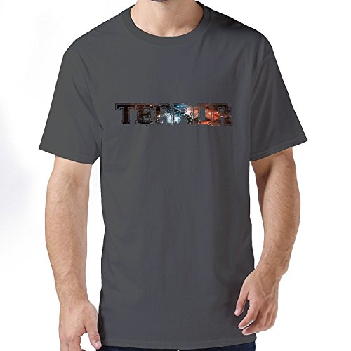 Guys Emotion Unique Terror T Shirts XLarge