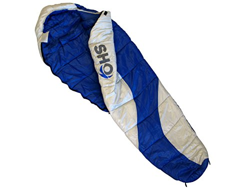 YOUR-Sleeping-Bag-by-SHO-Ultimate-3-to-4-Season-Sleeping-Bag-Extreme-Temp-248C-Tested-to-EN135372012-Regulations-Lifetime-Guarantee