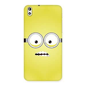 Enticing Yellows Fun Back Case Cover for HTC Desire 816s