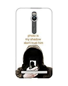 Mobifry Back case cover for Asus Zenfone 2 ZE551ML Mobile ( Printed design)