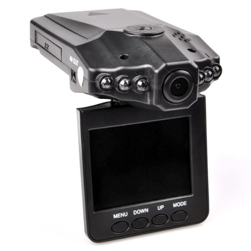 "ZNU Auto-DVR-Kamera 2,5"" TFT LCD HD VideoKamera Camcorder Überwachungskamera Car Recorder"