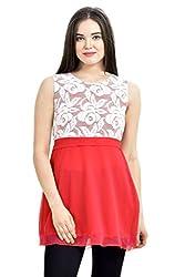 Femninora Red Color Tunic