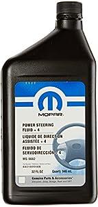 Genuine Mopar Fluid 68218064AA Power Steering Fluid - 1 Quart by Chrysler