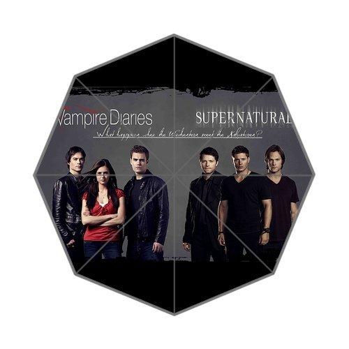CozyHome vampire diaries season 7 Custom sun rain umbrella foldable umbrella (The Vampire Diaries Season 7 compare prices)