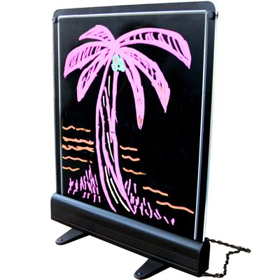 Display stands Board LED Write on Board LED neon signs trade show display boards