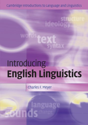 Introducing English Linguistics (Cambridge Introductions...