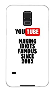 The Fappy Store Idiots-of hard plastic back case cover for Samsung Galaxy S5