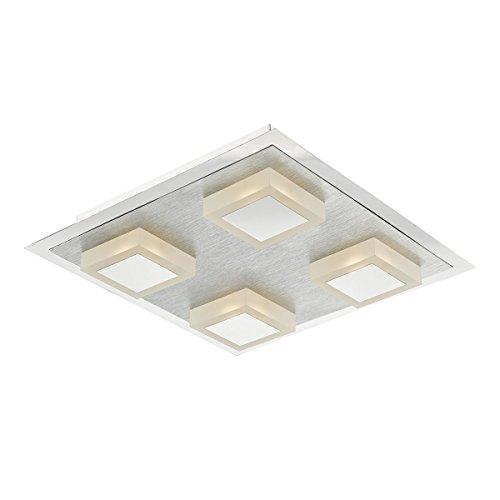 dar-kri4768-kris-4-light-square-chrome-led-flush-ceiling-light