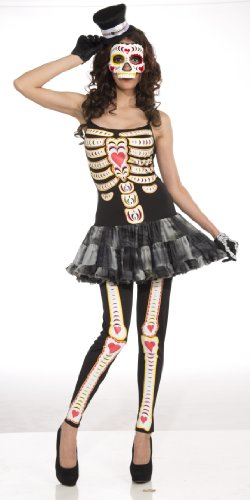 Adult Female Day of the Dead Costume
