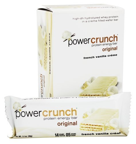 BioNutritional Research Group - Power Crunch Protein Energy Bar French Vanilla Creme - 5 Bars by BioNutritional Research Group