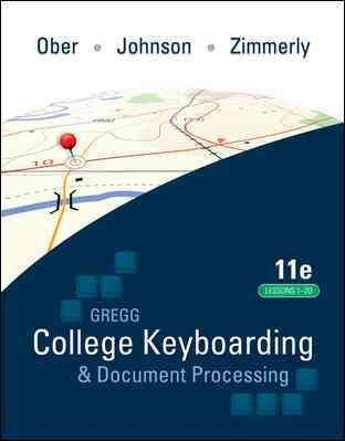 Gregg Coll Keybrdg Etc (Kit 4) (Lessons1-20) (GREGG...