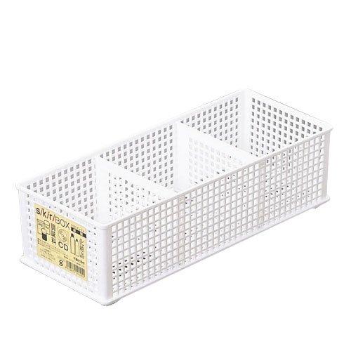 仕切りボックス深型 ホワイト