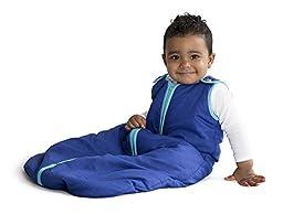 Baby Deedee Sleep Nest Sleeping Bag, Peacock, Medium
