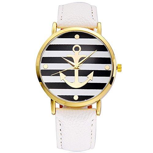 DAYAN Moda d'ancoraggio stripe belle orologio al quarzo watch uomini e donne