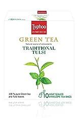 Typhoo Green Tea, Tulsi, 20g (10 Tea Bags)
