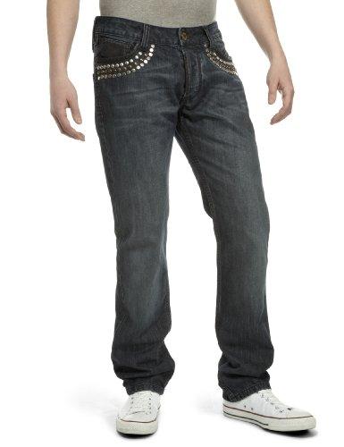 Antik Denim Men's Straight Jeans blue 28W x 32L