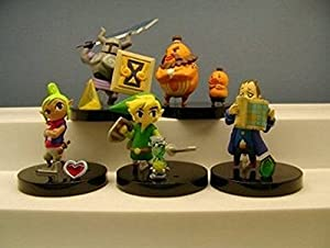 Legend of Zelda Phantom Hourglass Figure Set of 5 Complete