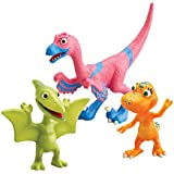 Le Dino Train - LC53054MP - Figurine - Pack 3 Personnages - Velma, Annie, Téo
