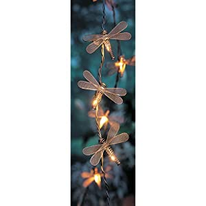 Click to buy Bronze Dragonfly 10-Bulb String Lights from Amazon!