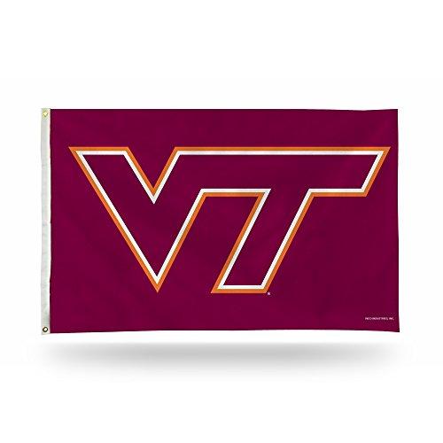 NCAA Virginia Tech Hokies Banner Flag 3-Foot by 5-Foot