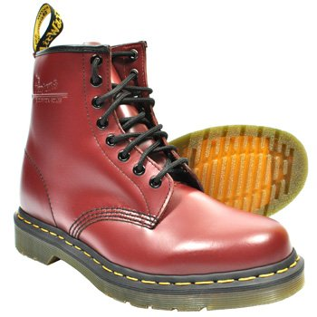 Dr Martens 1460 Boots (Cherry Red) - 5 UK