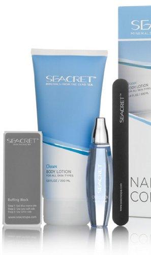 Seacret nail kit:Vanilla and coconut