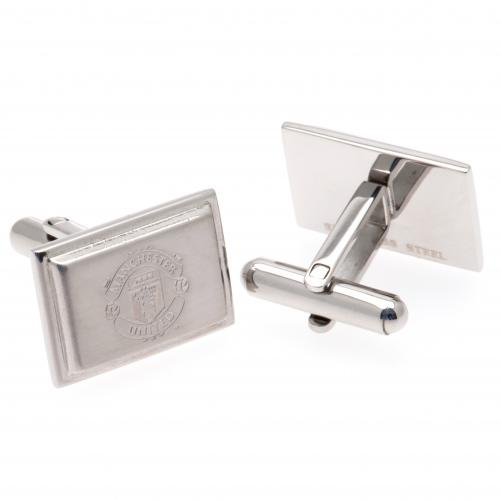 Manchester United F.C. Stainless Steel Cufflinks