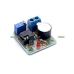 12V Anti-over-discharge Board Low-voltage / under voltage protection alarm board - KG348
