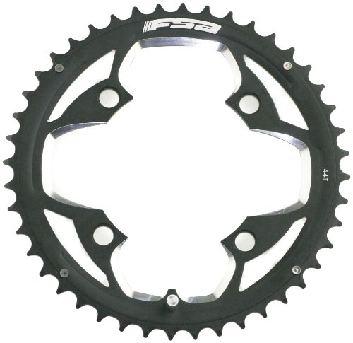 FSA ATB Alloy 44 -Tooth/9-Speed Chainring (104mm, Black)