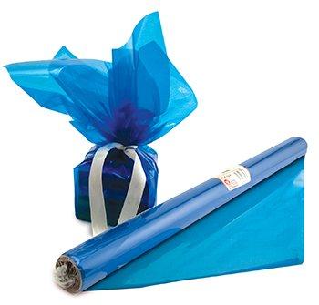 Cello Wrap Roll Blue
