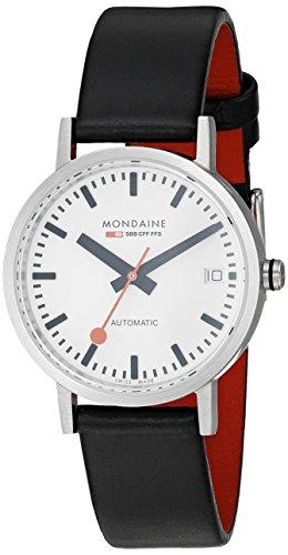 Mujer-reloj Mondaine Classic Automatic analógico automático piel A128, 30008, 16SBB