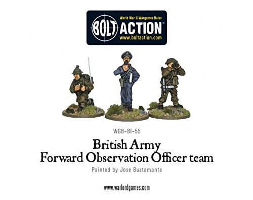 British Army Forward Observer Team Miniatures - 1