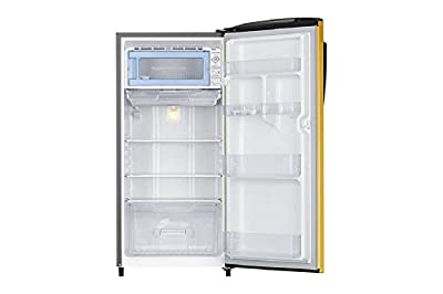 Samsung RR19J2784YT Direct-cool Single-door Refrigerator (192 Ltrs, 4 Star Rating, Sapphire Yellow)
