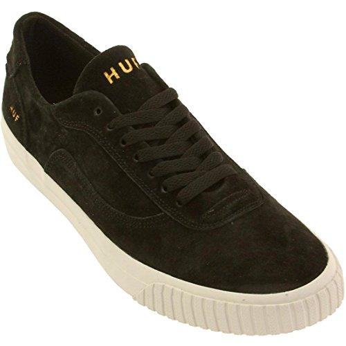 HUF Men's Essex Premium Skate Shoe, Black, 13 M US