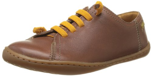 CAMPER Boys Peu Trainers 80003-053 Brown 1 UK, 33 EU