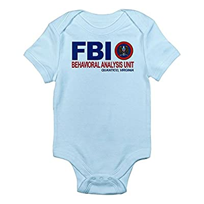 CafePress Infant Bodysuit - Criminal Minds FBI BAU Infant Bodysuit